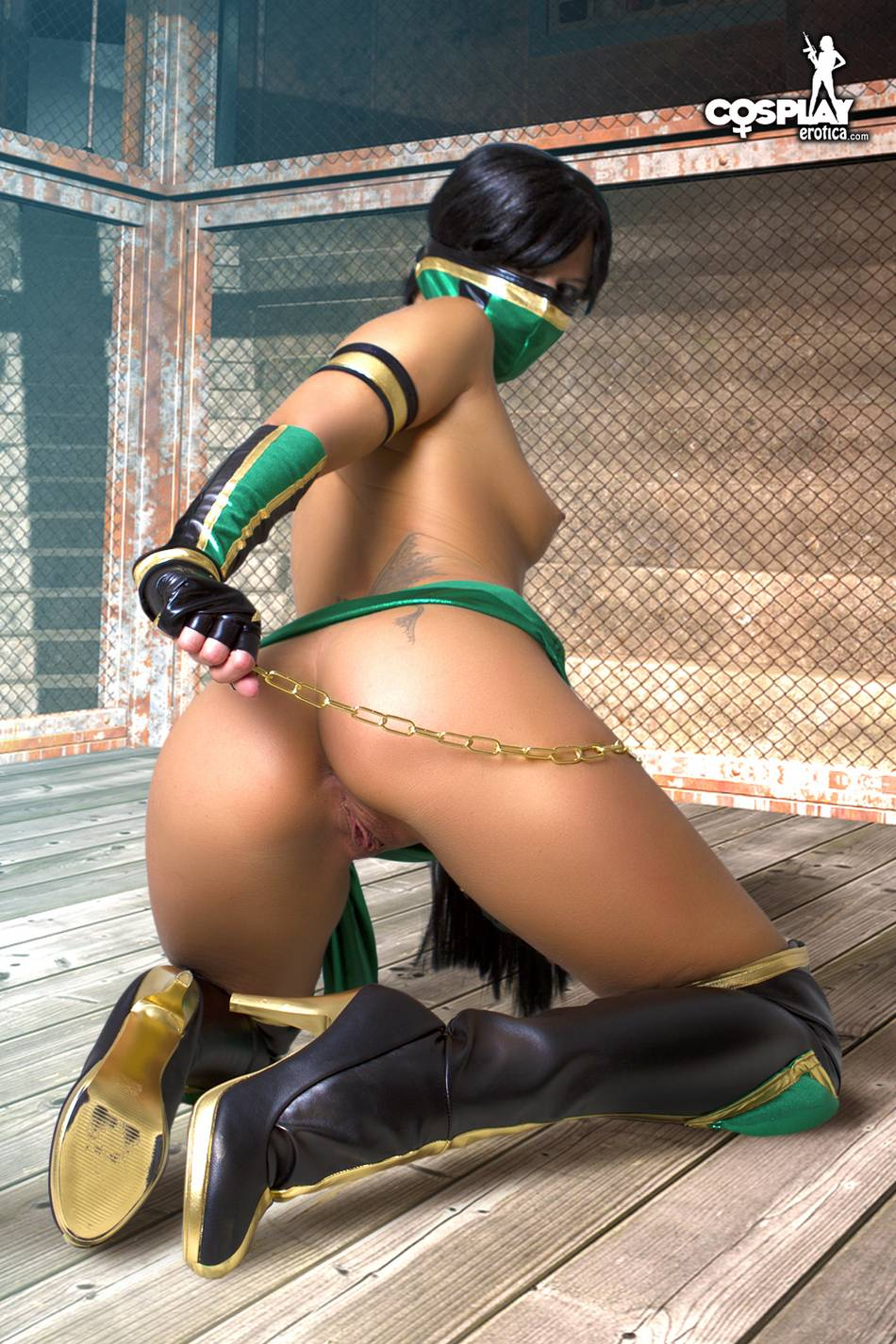 Are Sexy mortal kombat girls naked have faced