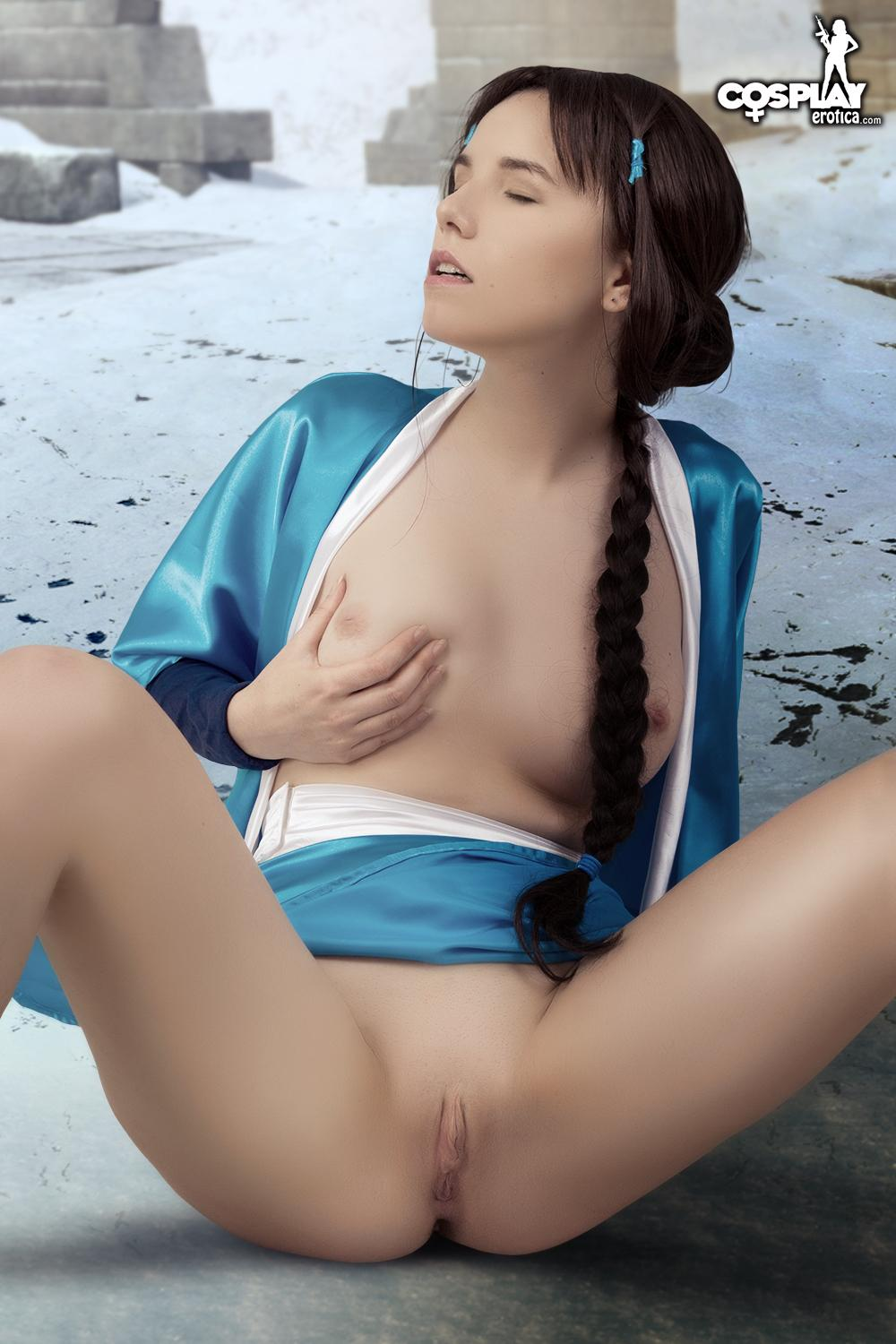 avatar:the last airbender nude cosplay